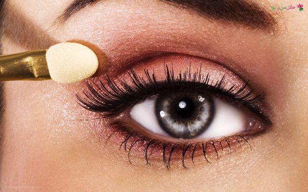 ترفند درشت کردن چشم - استفاده از سایه