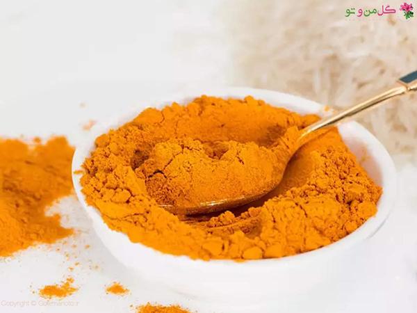 درمان جای جوش و پاکسازی پوست با زرد چوبه