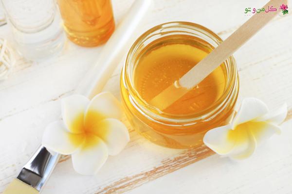 از بین بردن جای جوش با عسل