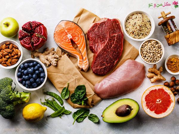 میزان مصرف پروتئین