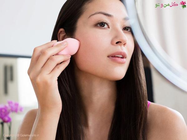 استفاده از کانسیلر برای آرایش
