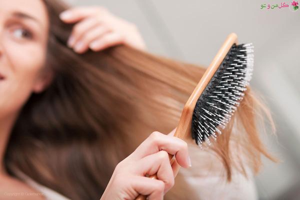 طرز جدا کردن گرههای مو
