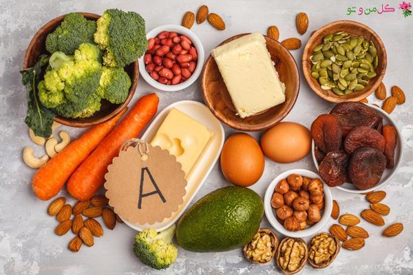 تقویت رشد مو با ویتامین - ویتامین a