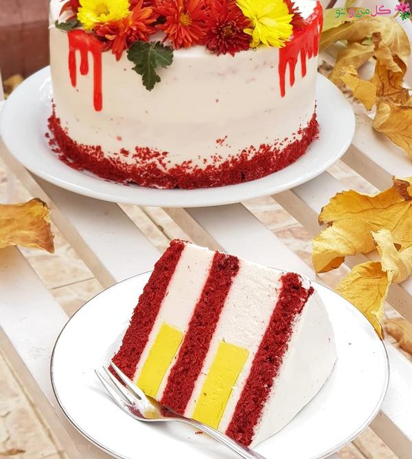 کیک ردولوت روسی