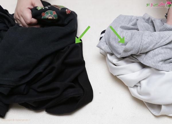 نحوه شستن لباس مشکلی - تفکیک لباس ها