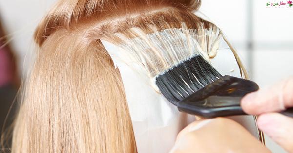 دکلره کردن موها - آمبره مو در خانه