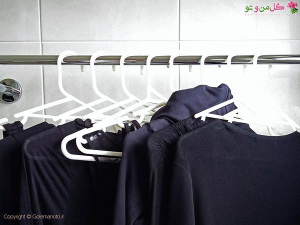 لباس ها را آویز کنید