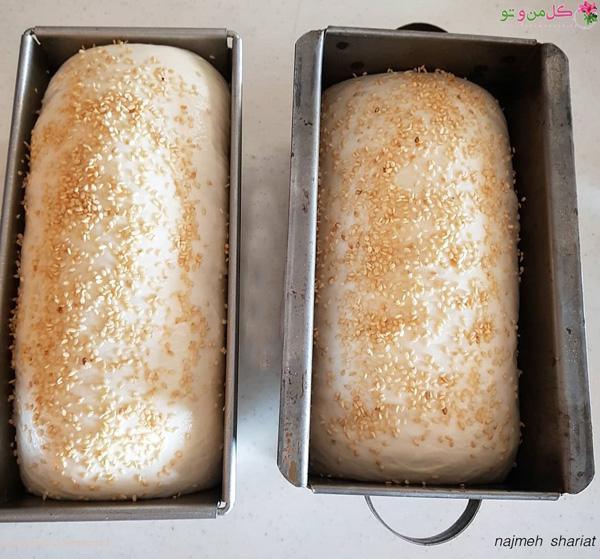 خمیر نان تست