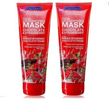 بررسی ماسک شکلات و توت فرنگی فریمن