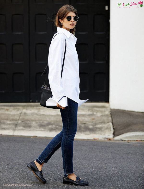 رنگ سفید در استایل مینیمال لباس