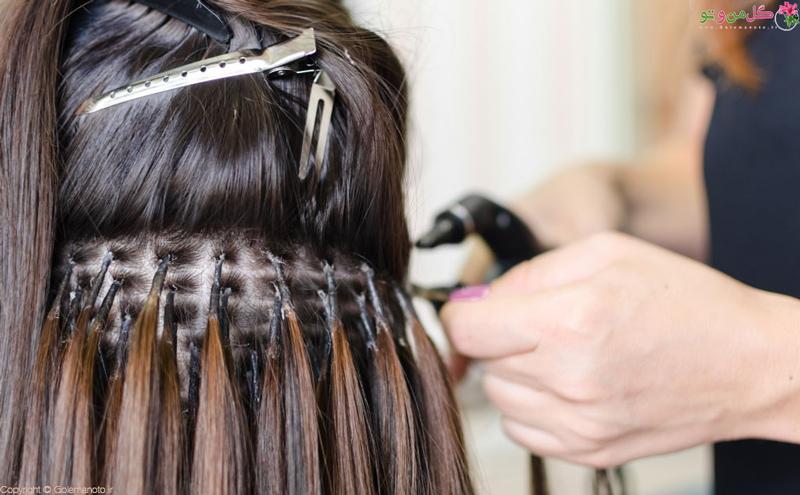 اکستنشن مو و فواید و مضررات آن