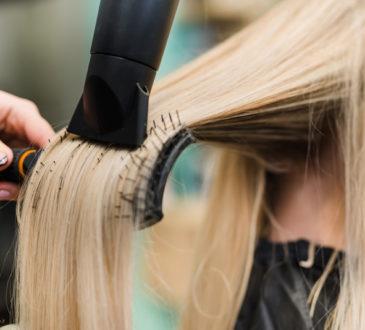 براشینگ مو کوتاه و فر