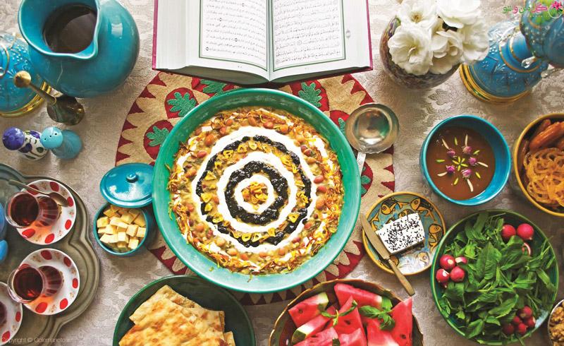 غذاهای مناسب سحری