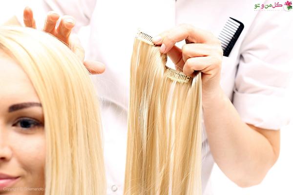 انواع جنس اکستنشن مو