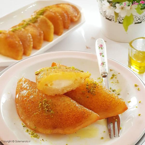 شیرینی قطایف عربی