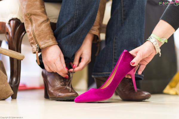 زیره کفش - انتخاب کفش خوب