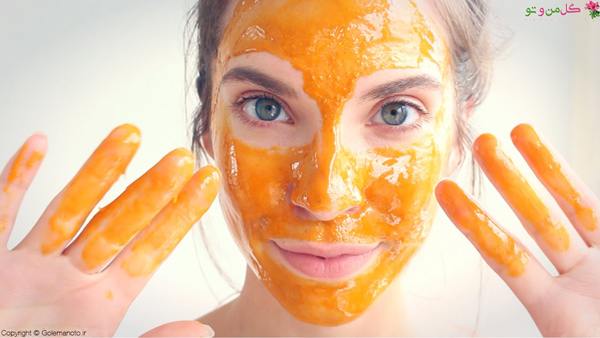 خواص عسل برای پوست چرب - ماسک عسل و زردچوبه