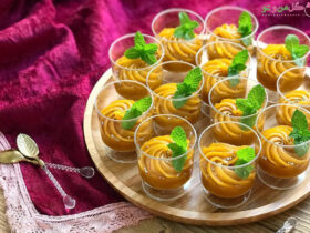 حلوای عربی - دستور پخت حلوا عربی