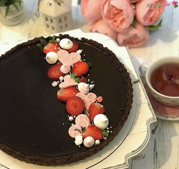 تارت شکلاتی