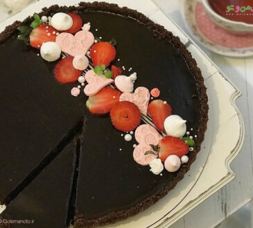 طرز تهیه تارت شکلاتی بدون فر