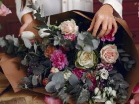 انتخاب دسته گل خواستگاری زیبا