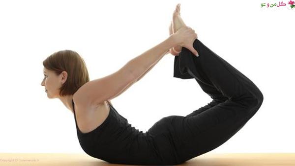 حرکت کمان - تاثیر یوگا بر لاغری