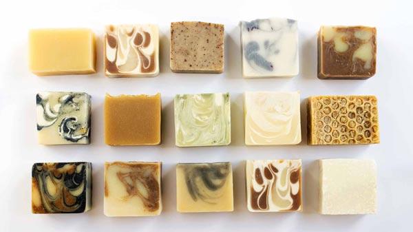 انواع صابون گلیسیرینه