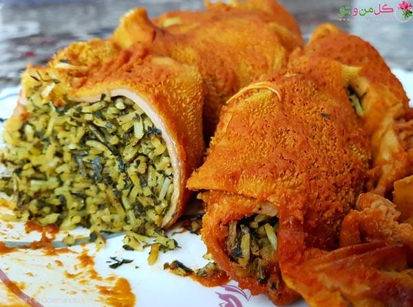 بدمزه ترین غذاهای ایرانی - دلمه سیرابی