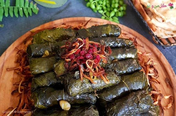 دلمه غذای پرطرفدار ایرانی