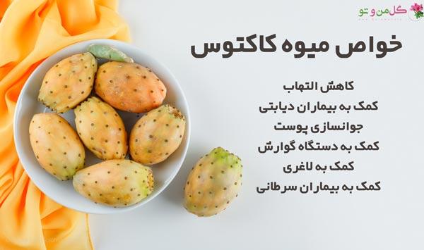 فواید میوه کاکتوس برای سلامتی