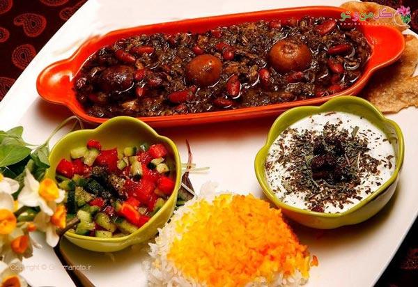 لیست محبوب ترین غذاهای ایرانی - قورمه سبزی