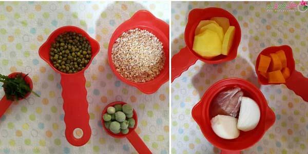 مواد لازم برای تهیه خوراک بلدرچین برای نوزاد