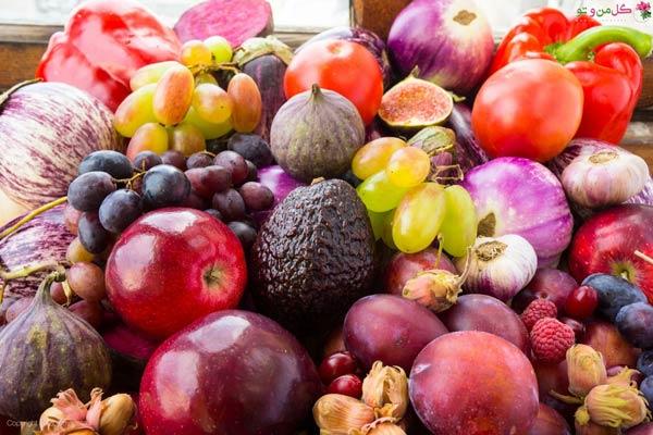 میوه های دارای انتی اکسیدان