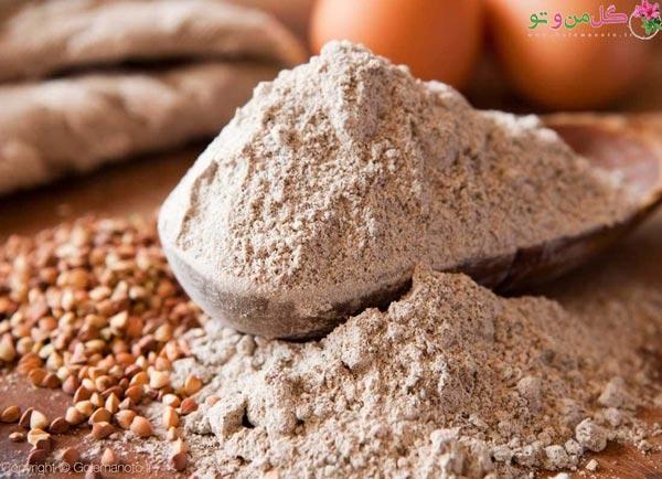 استفاده از گندم سیاه - جایگزین آرد