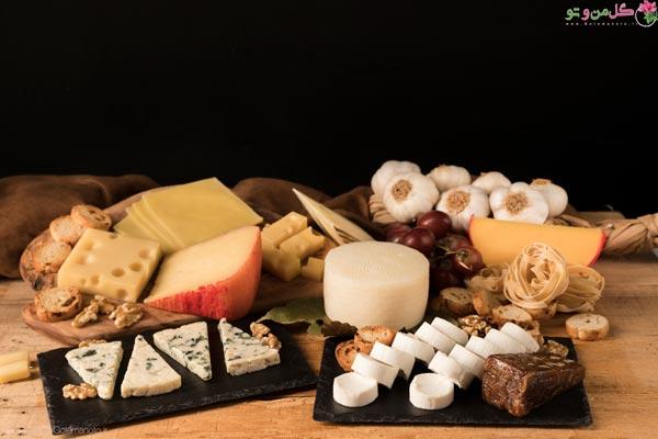 انواع پنیر ها