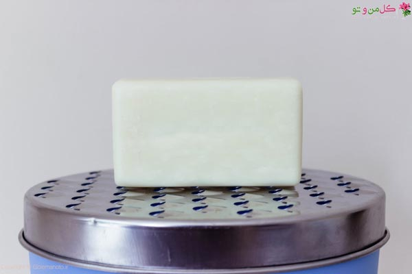 رنده کردن صابون - ساخت صابون مایع خانگی