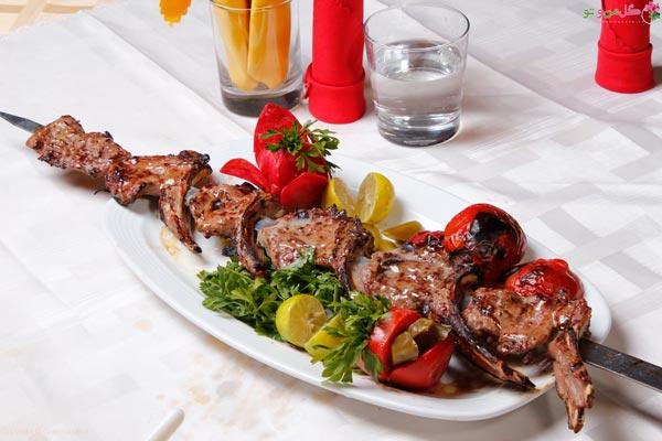 شیشلیک غذای مجلسی ایرانی عالی
