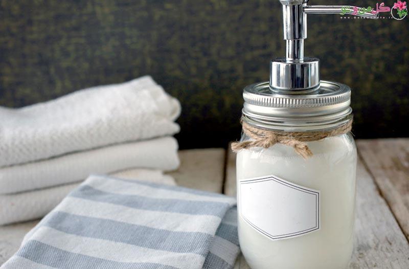 طرز تهیه صابون مایع در خانه