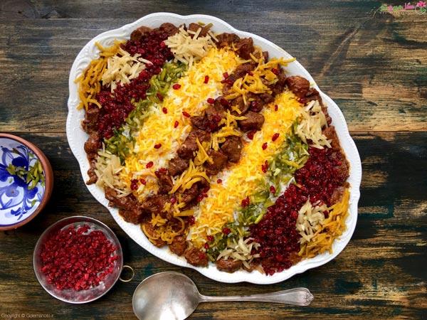 غذاهای مجلسی خوشمزه - قیمه نثار قزوین
