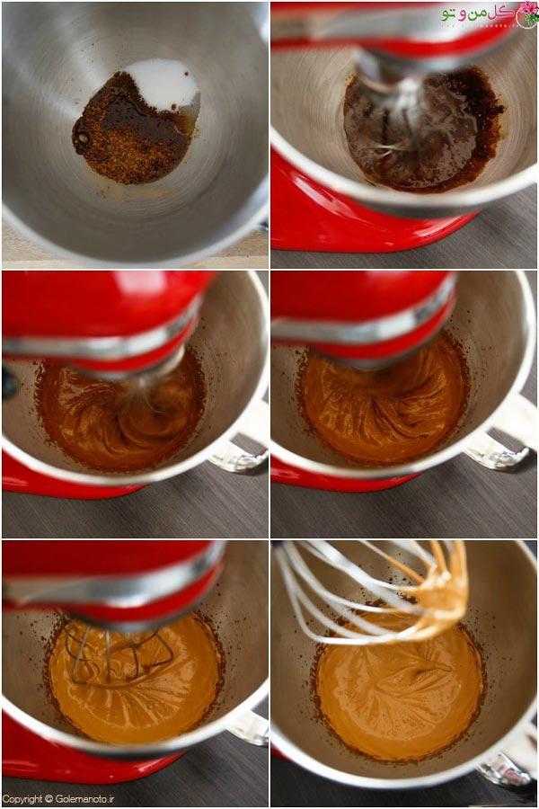 مراحل طرز تهیه قهوه دالگونا با مخوط کن