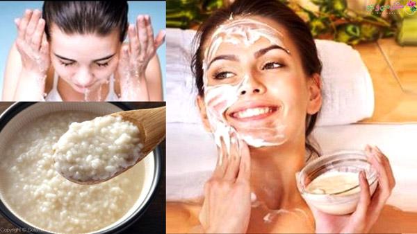 خواص آب برنج برای پوست و انواع ماسک