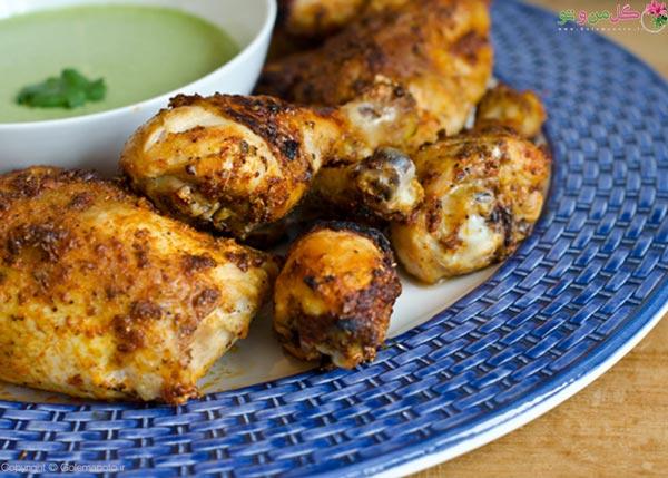 غذاهای مرغی از غذای نونی سریع