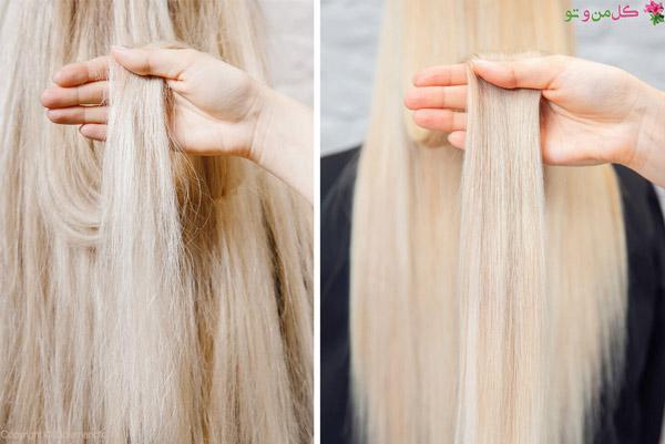 کراتینه مو چیست و انواع کراتین مو