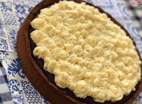 تزیین تارت کیک