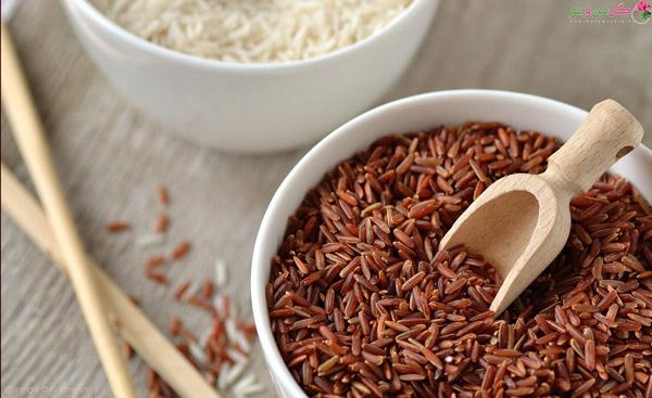 خواص برنج برای لاغری - برنج قهوه ای