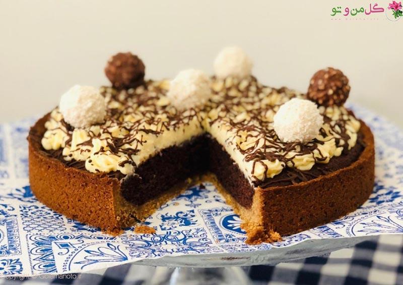 طرز تهیه تارت کیک شکلاتی