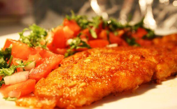 غذای رژیمی با مرغ و فیله مرغ