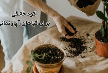 کود خانگی برای گیاهان آپارتمانی