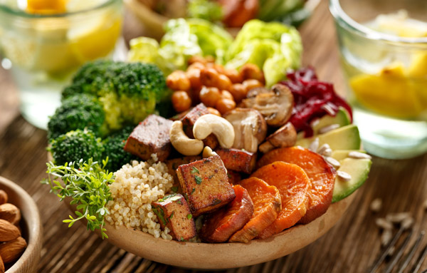 غذاهای گیاهی خوشمزه